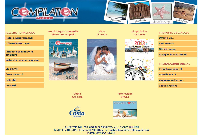 Compilation Viaggi sito