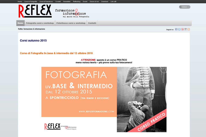 Reflex formazione sito web