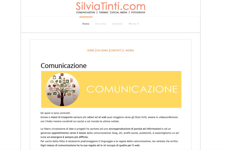 SilviaTinti.com il sito