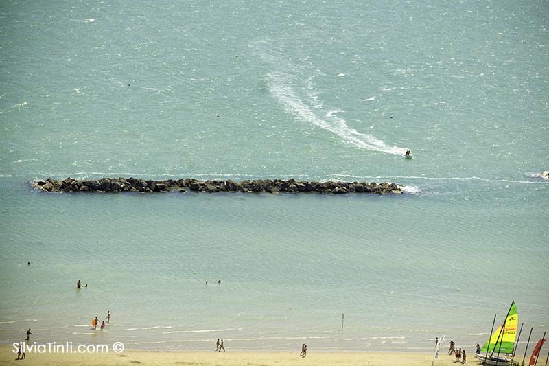 Cupra Marittima la spiaggia