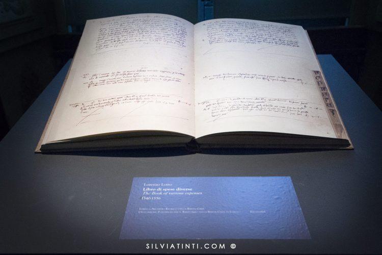 Lorenzo Lotto-il Libro delle spese diverse