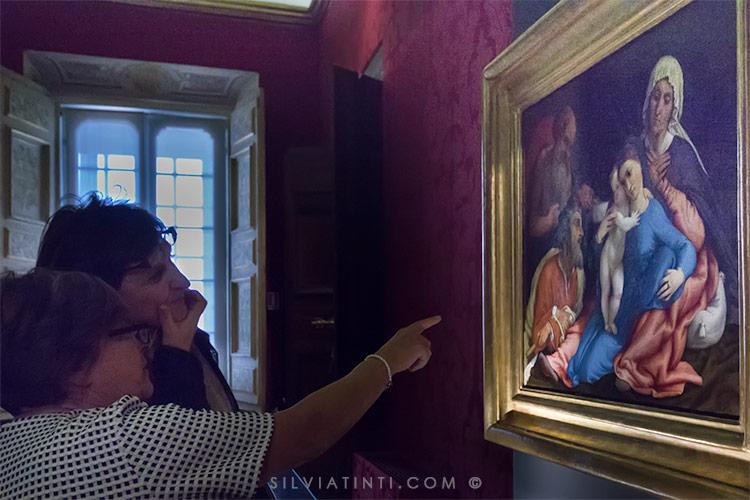 Lorenzo Lotto -Sacra famiglia con Sant'Anna e San Gerolamo
