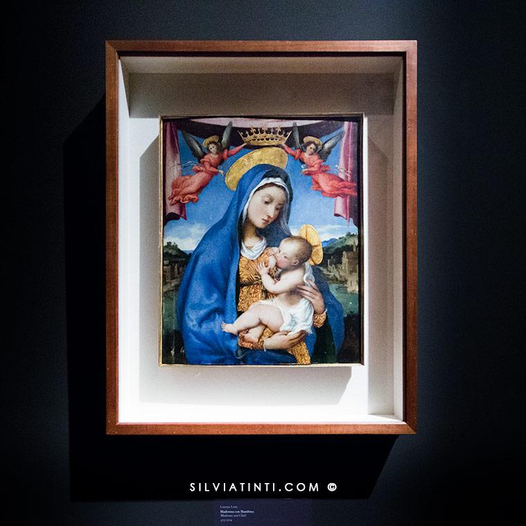 Madonna col Bambino -Lotto