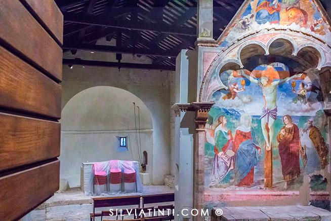 Moresco_Chiesa Madonna dell'Olmo dalla finestrella