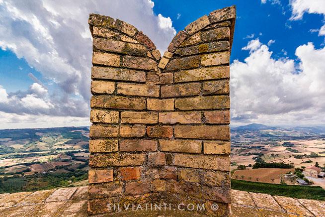 Moresco_Torre eptagonale- panorama
